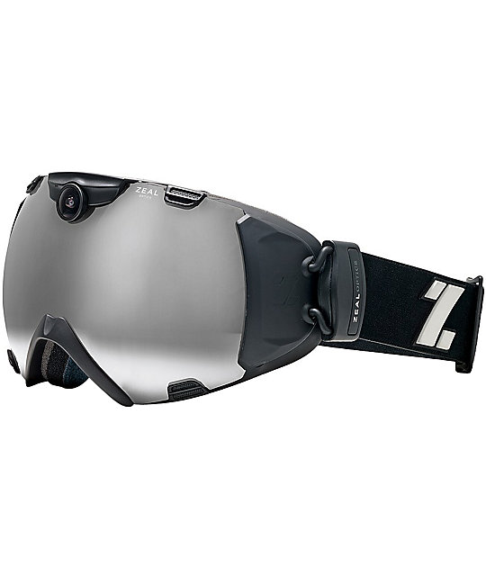 Zeal iON Black Snowboard Goggle & HD Camera 2013