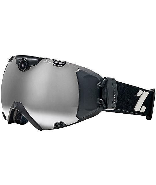 Zeal iON Black Snowboard Goggle & HD Camera 2013