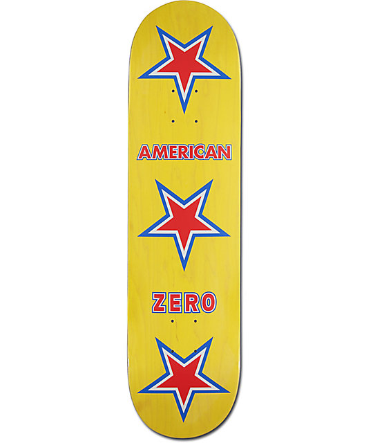 """Zero American Zero 8.0"""" Skateboard Deck"""