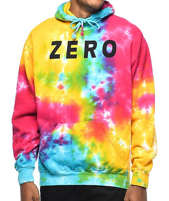 Shoptagr zero army tie dye hoodie by zero skateboards zero skateboards zero army tie dye hoodie ccuart Images