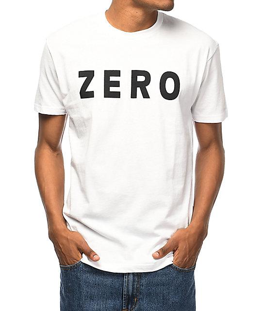 Zero Army White T-Shirt