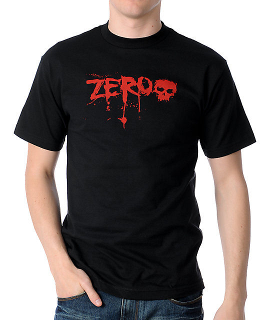 Zero Blood Logo Skate T-Shirt