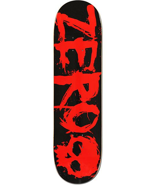 """Zero Blood Team 8.25""""  Skateboard Deck"""