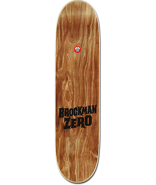 "Zero Brockman Death Face 8.0""  Skateboard Deck"