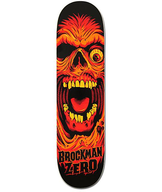 """Zero Brockman Face 8.0""""  Skateboard Deck"""