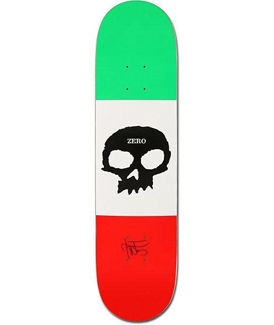 "Zero Cervantes Signature Skull 7.875""  Skateboard Deck"
