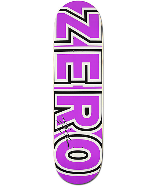 "Zero Chris Cole Bold 8.5""  Skateboard Deck"