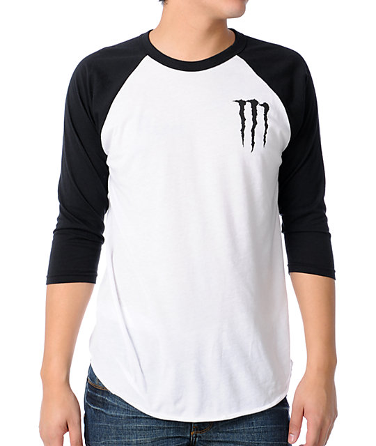 Zero Chris Cole x Monster Energy Baseball T-Shirt