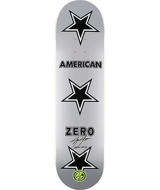 """Zero Cole American Zero P2 8.25""""  Skateboard Deck"""