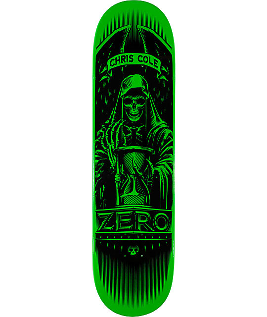 "Zero Cole Angel Of Death 8.125""  Skateboard Deck"