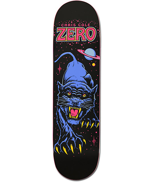 "Zero Cole Black Panther 8.1""  Skateboard Deck"