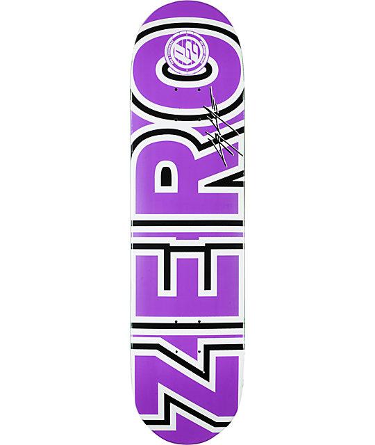 """Zero Cole Bold P2 8.0""""  Skateboard Deck"""