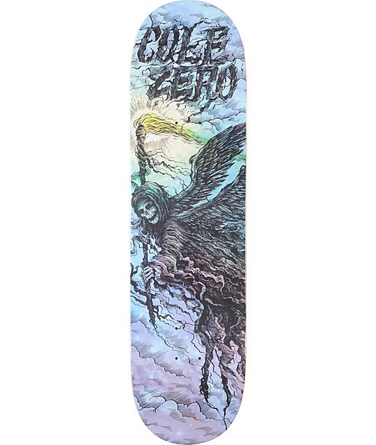 "Zero Cole Creeping Death 8.25""  Skateboard Deck"