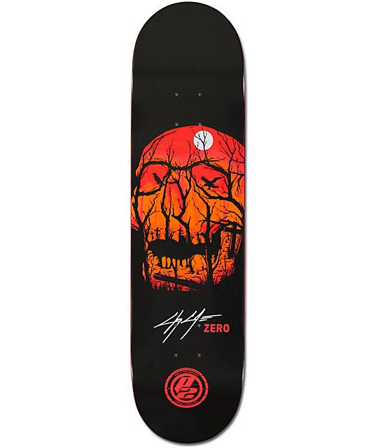 "Zero Cole Graveyard P2 8.0""  Skateboard Deck"