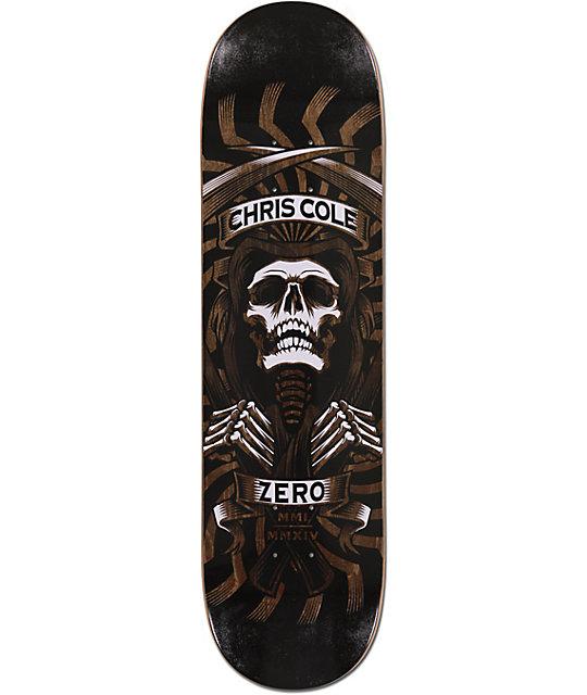 "Zero Cole MMI MMXIV 8.25""  Skateboard Deck"