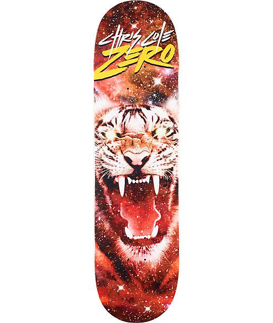 "Zero Cole Space Tiger 8.37""  Skateboard Deck"