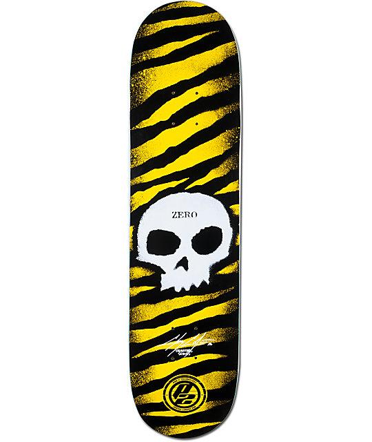 """Zero Cole Stencil P2 7.875""""  Skateboard Deck"""
