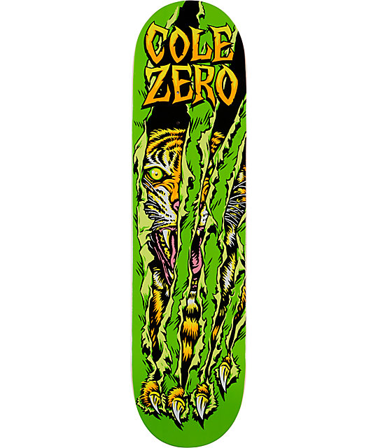 "Zero Cole Survival Duraslick 8.0""  Skateboard Deck"