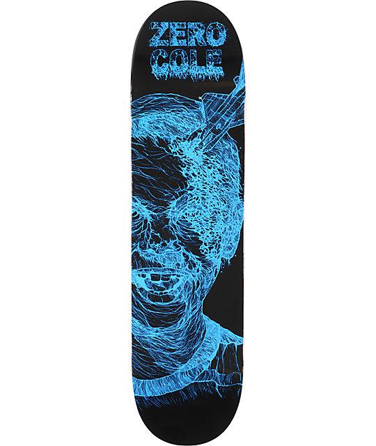 "Zero Cole Zombie 8.0""  Skateboard Deck"