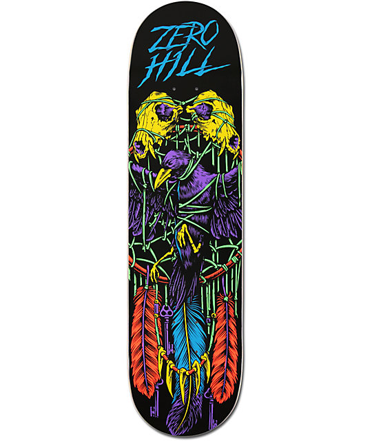 "Zero Garret Hill Blacklight 8.25""  Skateboard Deck"
