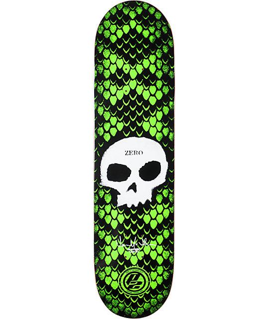 "Zero Jamie Thomas Skull Stencil P2 8.0""  Skateboard Deck"