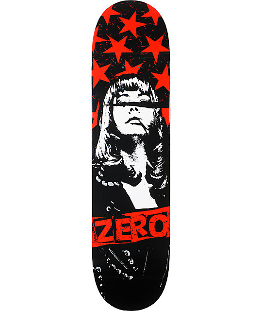 "Zero Kiss Off 8.0""  Skateboard Deck"