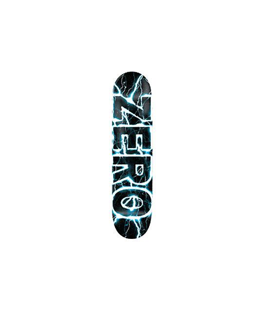 "Zero Lightning Blue 8.0""  Skateboard Deck"