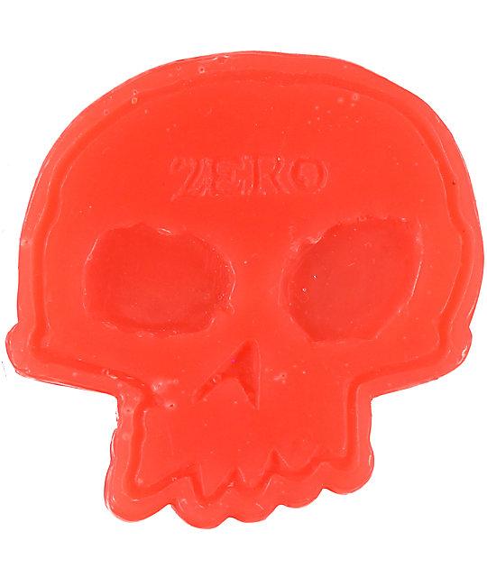Zero Red Skull Skateboard Wax