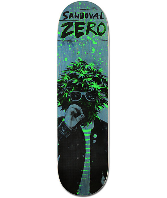 "Zero Sandoval Attack 8.25""  Skateboard Deck"