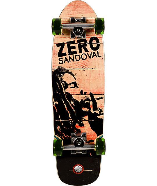 "Zero Sandoval Burning 26""  Cruiser Complete Skateboard"