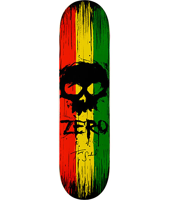 "Zero Sandoval Flagship 8.0""  Skateboard Deck"