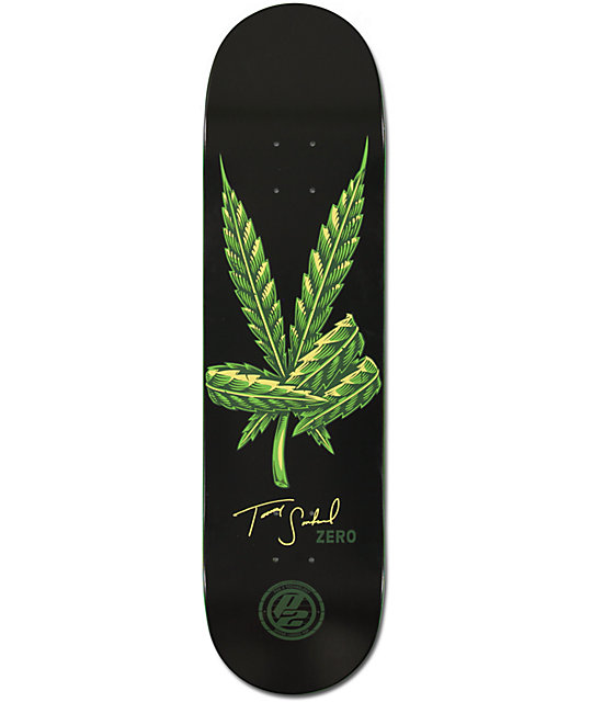 zero sandoval leaf p2 skateboard deck at zumiez pdp. Black Bedroom Furniture Sets. Home Design Ideas