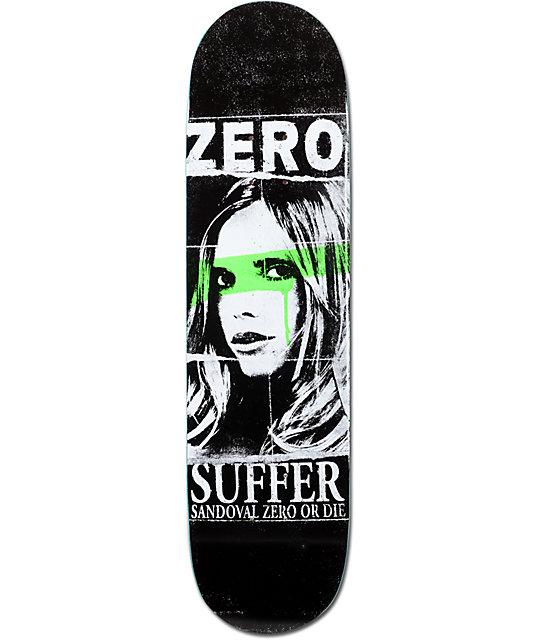 "Zero Sandoval Suffer 7.87""  Skateboard Deck"