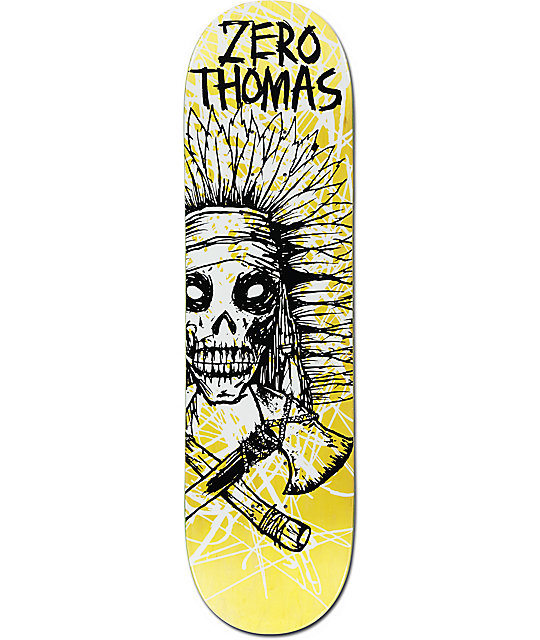 "Zero Thomas Dark Ages Impact Light 8.375"" Skateboard Deck"