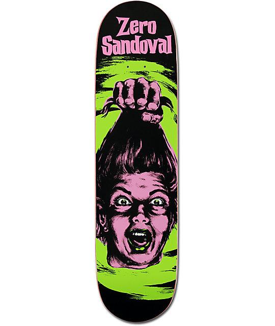 "Zero Tommy Sandoval Horror 7.87""  Skateboard Deck"