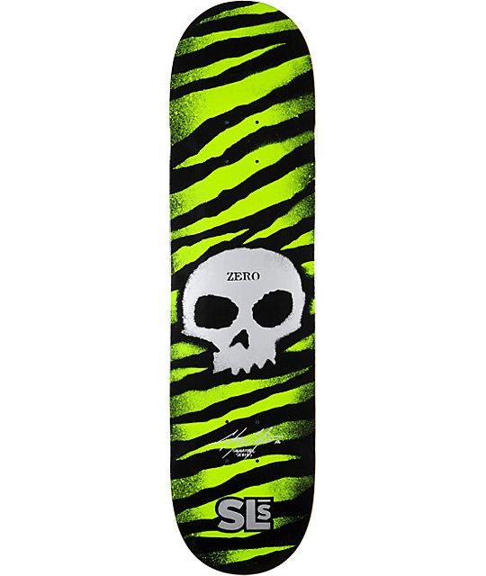 "Zero x Street League Cole Stencil 8.0""  Skateboard Deck"