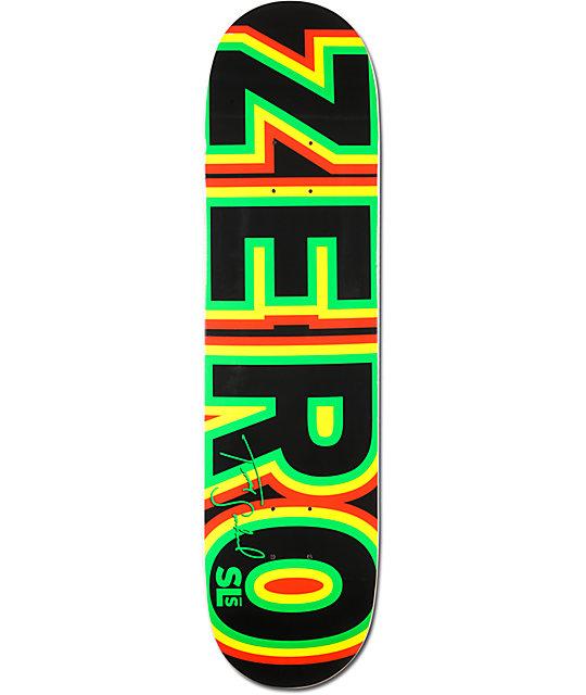 "Zero x Street League Sandoval Bold Rasta 7.87""  Skateboard Deck"