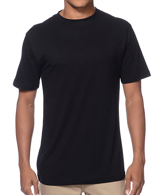 Zine Baseline Black Crew Neck T-Shirt at Zumiez : PDP