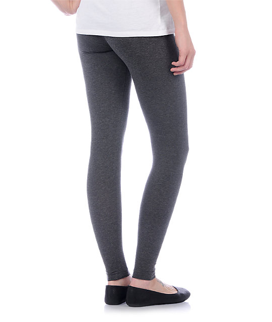 Zine Basic Charcoal Heather Leggings