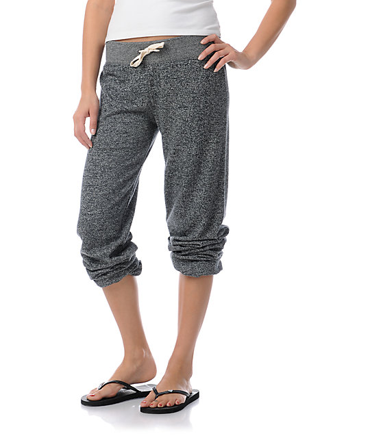 Zine Black Speckle Sweatpants