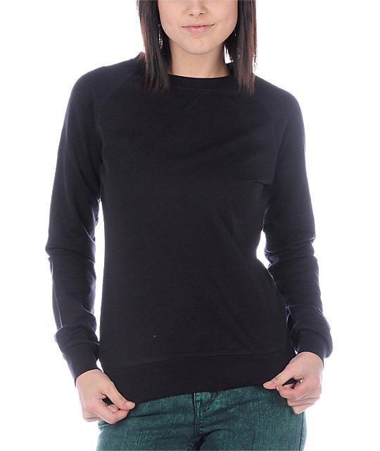 Zine Black Sweatshirt