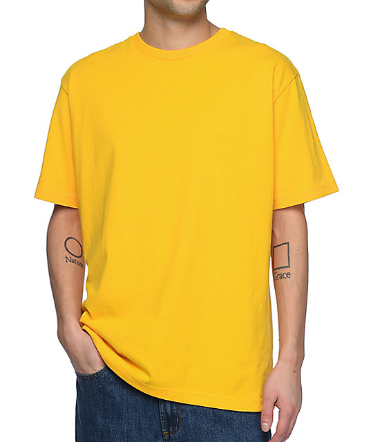 Zine Boxed Yellow T-Shirt