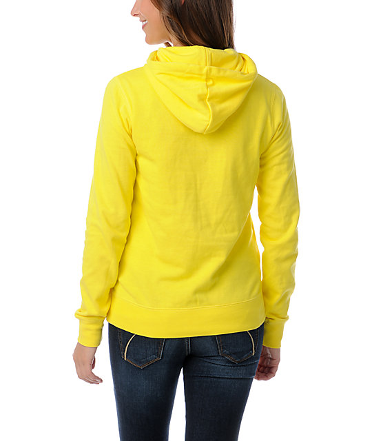 Zine Buttercup Yellow Pullover Hoodie
