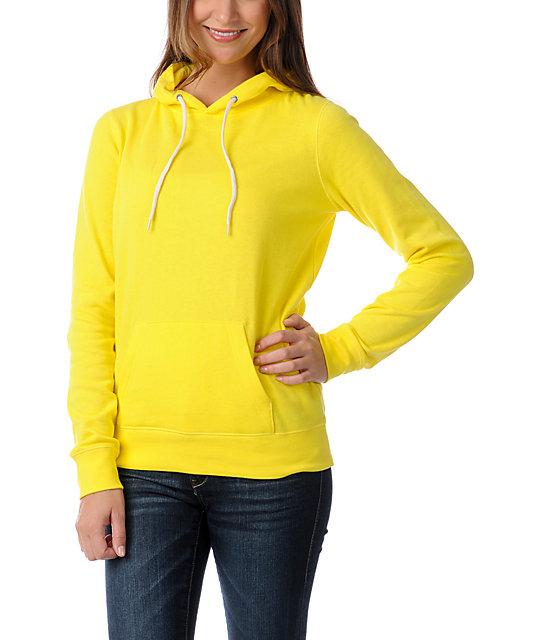 Zine Buttercup Yellow Pullover Hoodie | Zumiez