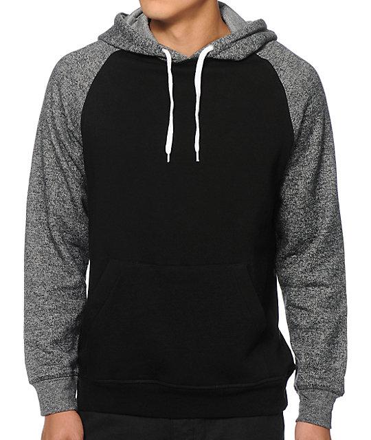 Two tone hoodies