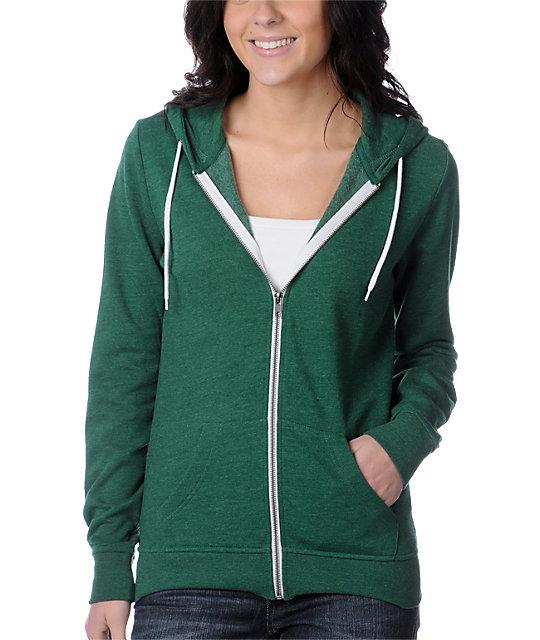 Zine Evergreen Green Hoodie