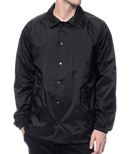 Zine ghostwriter black coach jacket zumiez for Coach jacket