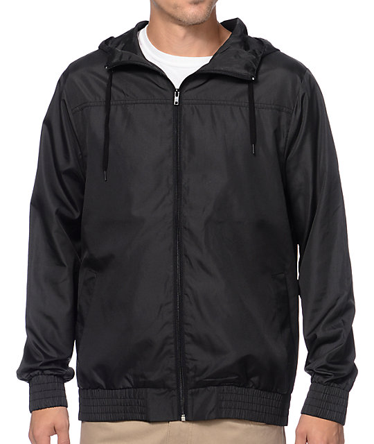Zine Harvey Black Windbreaker at Zumiez : PDP