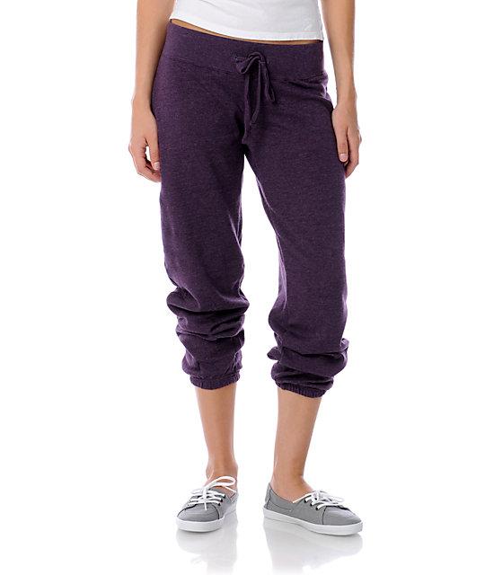 Zine Heather Purple Sweatpants