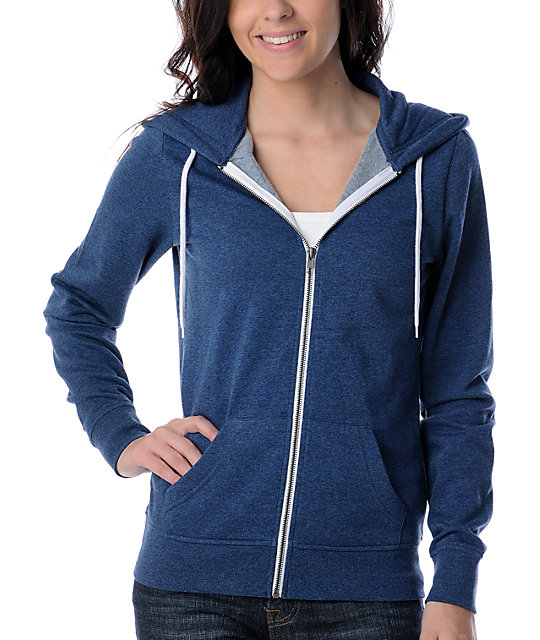 Zine Medieval Heather Blue Hoodie